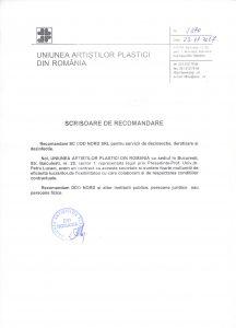 Recomandare-Uniunea-Artistilor-UAP